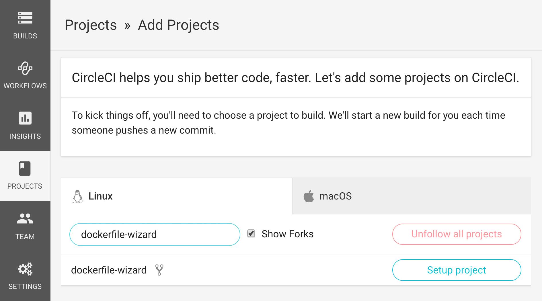 Docker Images - Dockerfile Wizard | CircleCI