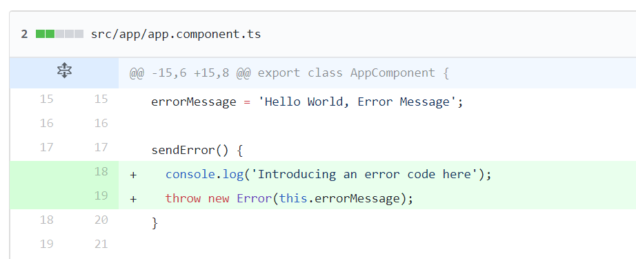 Automatically identify which code changes caused errors